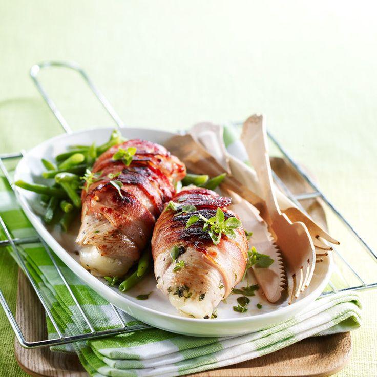Découvrez la recette Roulades de dinde au chèvre sur cuisineactuelle.fr.