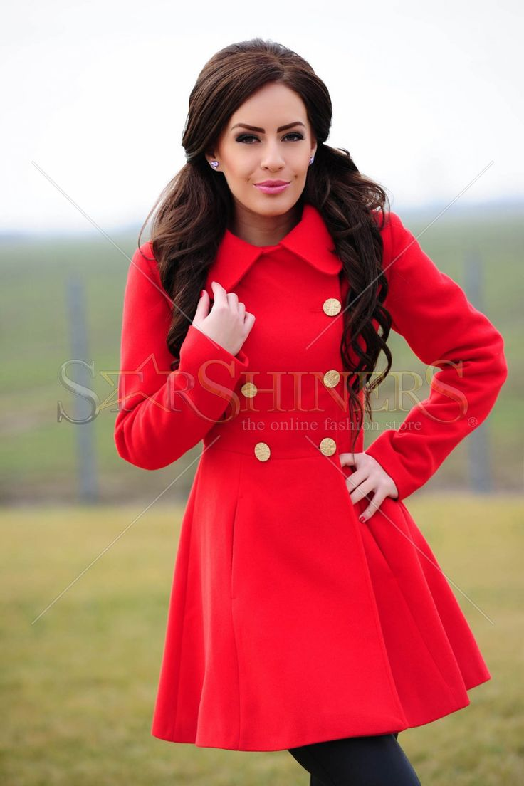 LaDonna Same Attraction Red Coat
