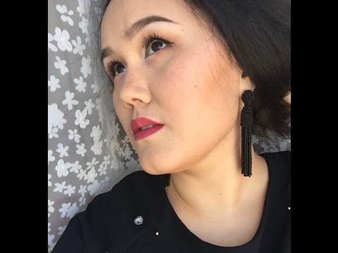 Серьги Оскар На Клипсах Без Фетра / #Oscar de la Renta Earrings - YouTube