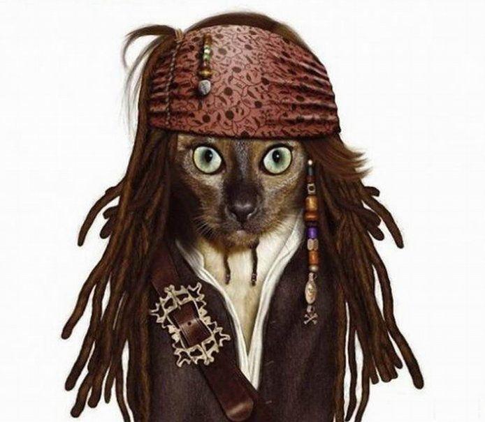 kapten jack sparrow impersonater vektor