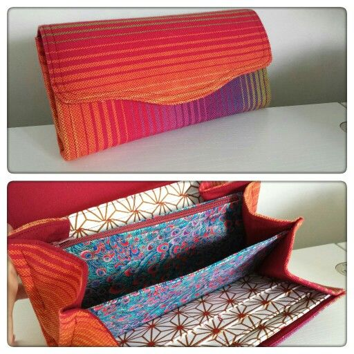 Necessary Clutch Wallet by EmBee Designs (made from Girasol 26)