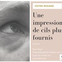 Intensification ciliaire et eye liner
