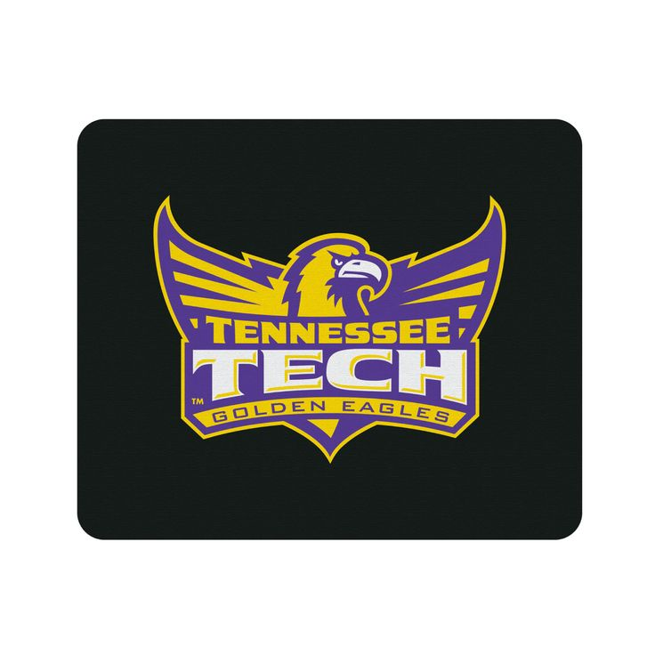 Tennessee Technological University Black Mouse Pad, Classic