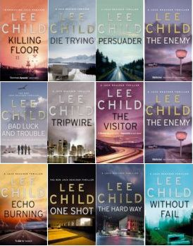 The Jack Reacher books by Lee Child are INCREDIBLE.  Only disappoinment is that Tom Cruise is playing Reacher in the movies and that is just ridiculous.