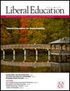 Liberal Education Fall 2012. Sustainability & Liberal Education: Partners by nature