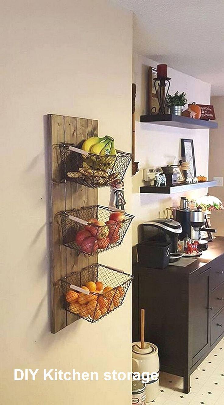 New Diy Kitchen Storage Ideasnew Diy Kitchen Storage Ideas Kitchendecor Kitchen Home Decor Home Diy Small Kitchen Decor