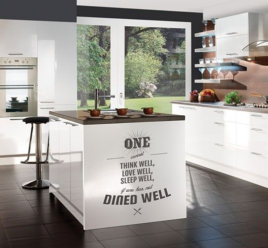 kitchen cabinets quote 17 best images about kitchen decals on why not 21065