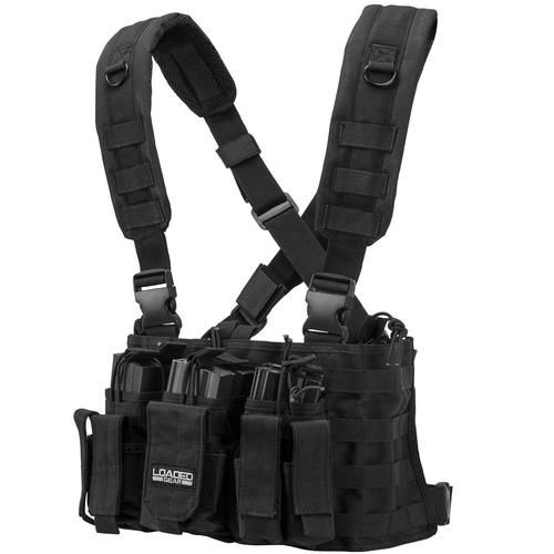 Barska Loaded Gear VX-400 Tactical Chest Rig-Black