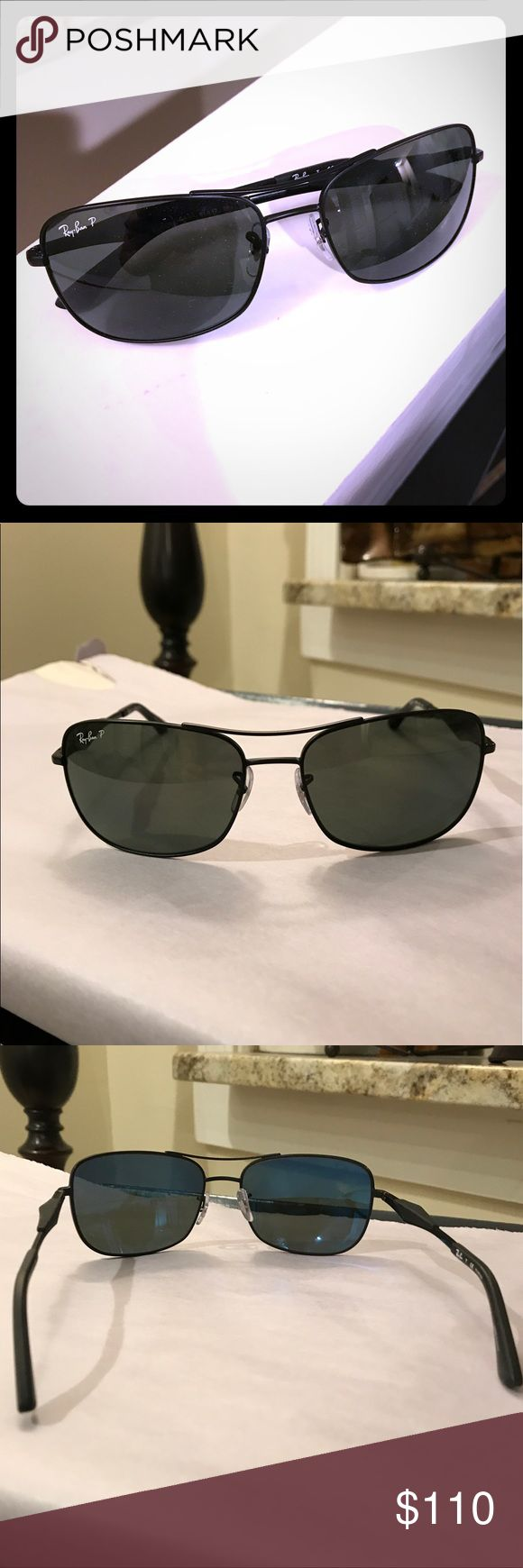 Polarized ray bans! New nwt, very nice sunglasses Ray bans, mens , polarized sunglasses new nwt Ray-Ban Accessories Sunglasses