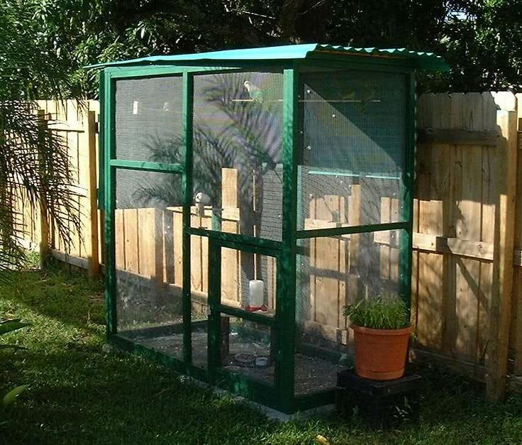 Outdoor Aviary Bird Cages Multiple Birds For Housing
