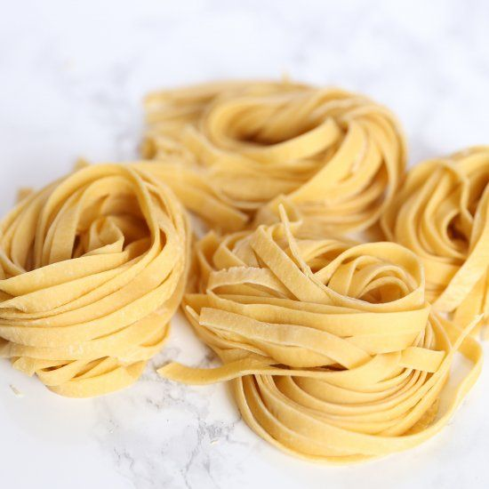 learn how to make fresh pasta from scratch only using 2 ingredients the easiest way