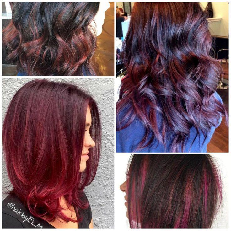 cherry hair colors ideas