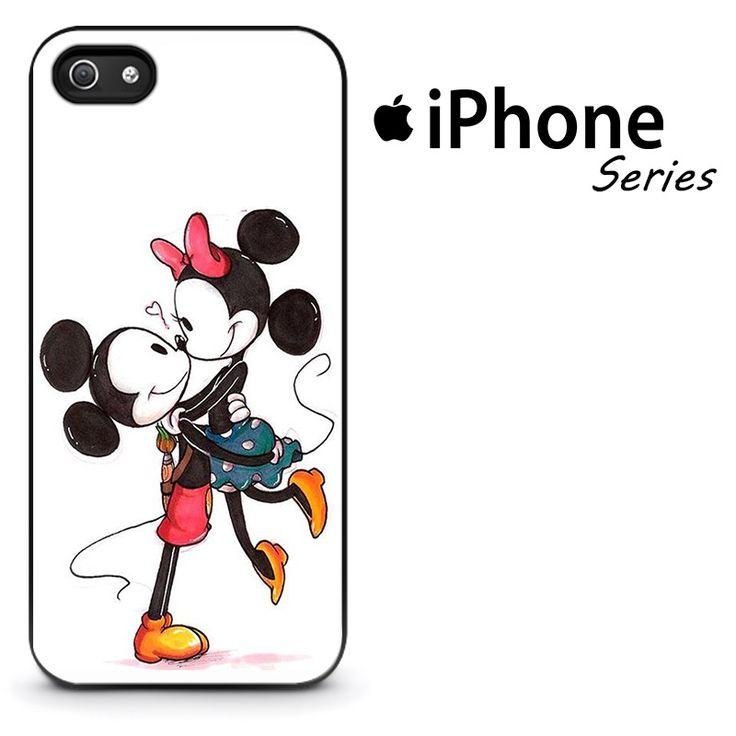 Mickey & Minnie Mouse Kiss Phone Case | Apple iPhone 4/4s 5/5s 5c 6/6s 6/6s Plus Samsung Galaxy S3 S4 S5 S6 S6 Edge S7 S7 Edge Samsung Galaxy Note 3 4 5 Hard Case  #AppleiPhoneCase #SamsungGalaxyCase #SamsungGalaxyNoteCase #Yuicase.com