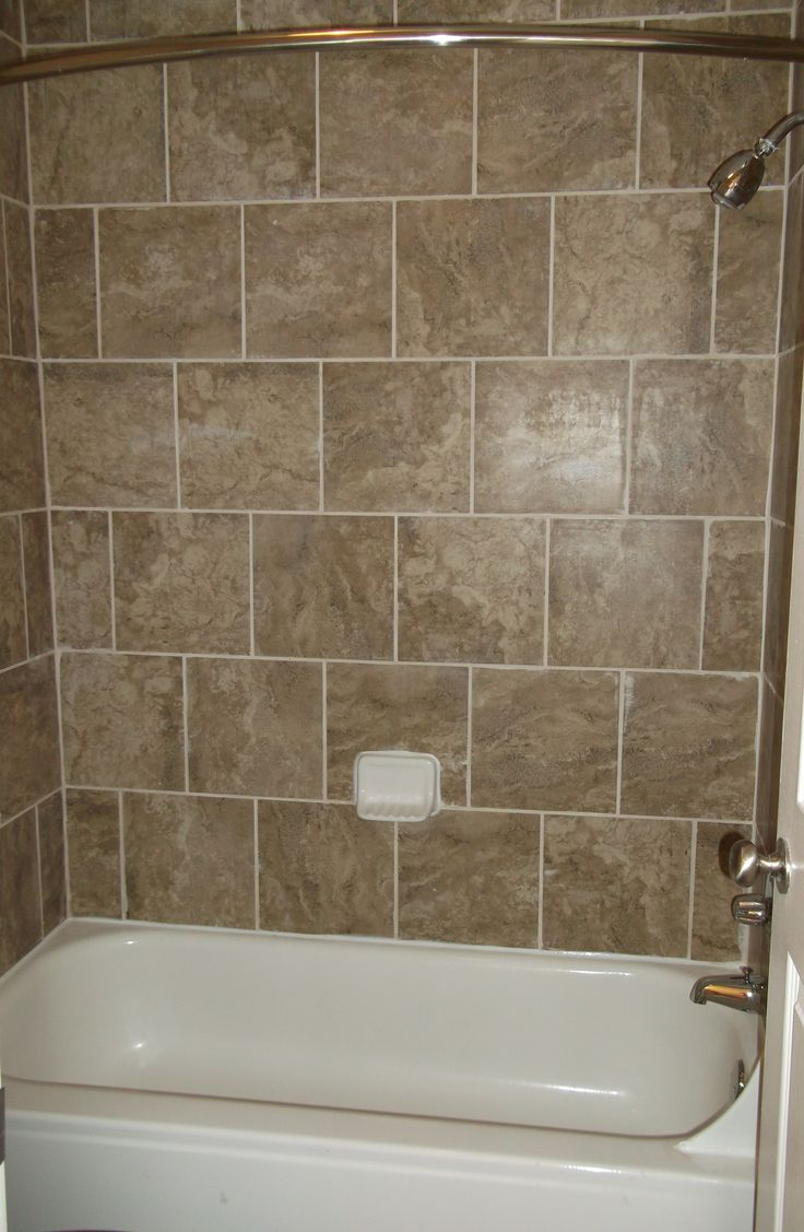 Another View Of The Full Tile Tub Shower Combo