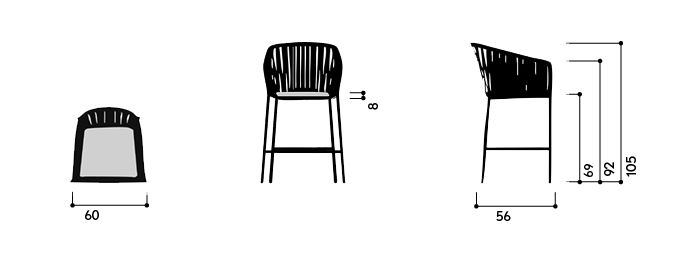Kettal Bitta Taburete Bar Furniture Pinterest