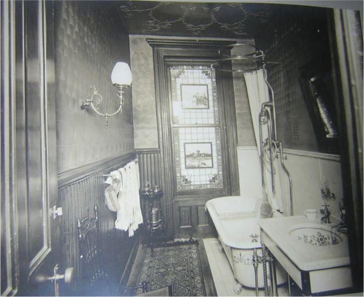 Authentic Victorian Bathroom Interior Views 1179 Dean St Brooklyn N