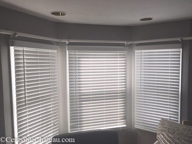 How To Make A Simple Gorgeous Bay Window Curtain Rod From Cheap