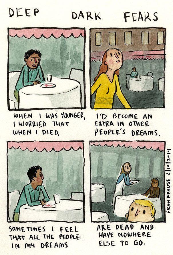 Cartoonist Turned Darkest Fears Into Comics TodayOutlook.com