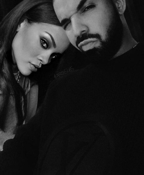 Rihanna and Drake..Can we all just take a minute to appreciate how cute these two are together?!♡