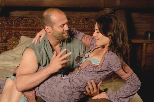 James Statham rescuing me from housework!  Well we can all dream lol!!