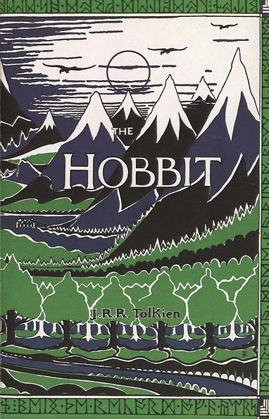 """The Hobbit, by J.R.R. Tolkien  """"In a hole in the ground there lived a hobbit. Not a nasty, dirty, wet hole, filled with the ends of worms and an oozy smell, nor yet a dry, bare, sandy hole with nothing in it to sit down on or to eat: it was a hobbit-hole, and that means comfort.""""   ― J.R.R. Tolkien"""