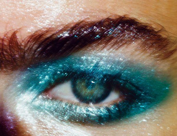 We like Maybelline New York Eye Studio Color Tattoo 24H Cream Gel shadows in Tenacious Teal and Edgy Emerald ($6.99 each).