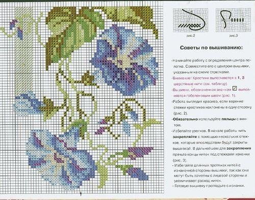 схемы вышивки крестом цветы: 22 тыс изображений найдено в Яндекс.Картинках