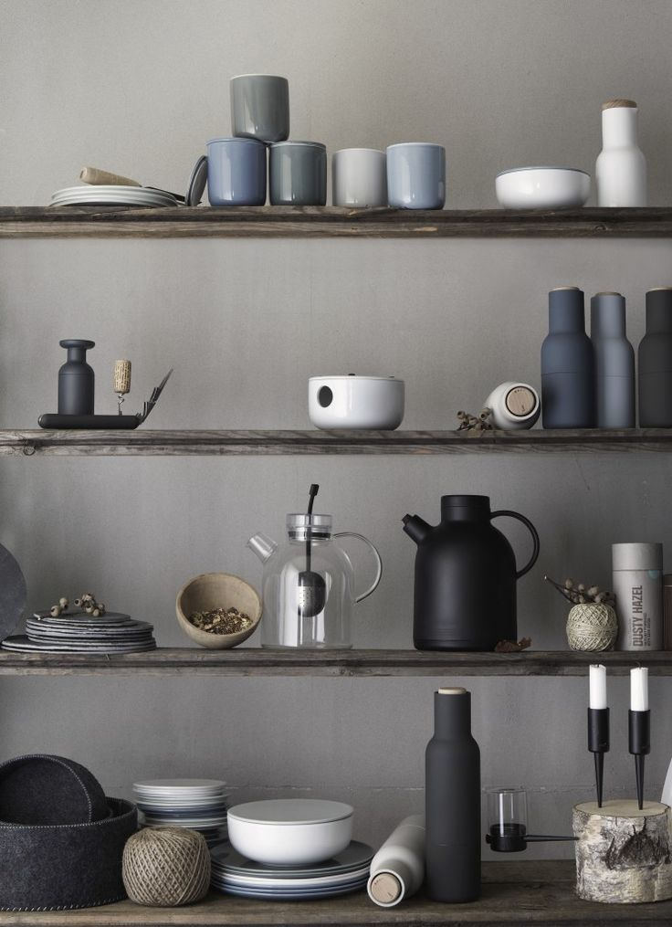 DANISH DINNERWARE INSPIRED BY NATURE