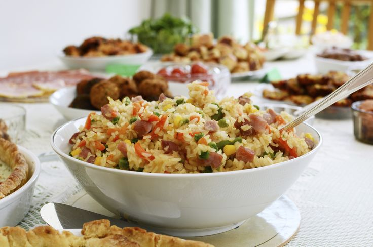 Planning the office party? Try one of these 30 fun and yummy potluck themes for your next staff lunch!