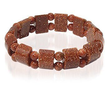 19mm Goldstone Gemstone 6 to 7 inch Adjustable Unisex Strechable Bracelet Gem Avenue. $4.99. Great price and quality. Beautifully crafted Goldstone Gemstone stretch bracelet. Gem Avenue sku # KJBR016. Bracelet width is 19mm Approximately. Excellent Quality Gemstone Bracelet. Save 72%!