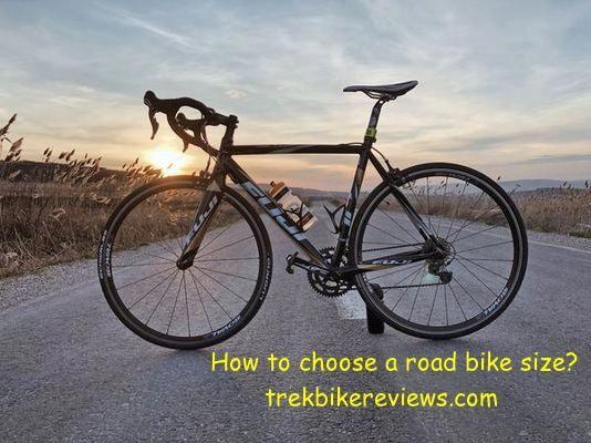 How To Choose A Road Bike Size Trekbikereviews Trekbike