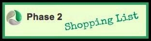 Ultimate Reset Shopping List…Ultimate Reset Shopping List Phase 2. Are you starting the Ultimate Reset soon?  Here's a Shopping list for each phase of the Reset.  This will make your life easier! Also, follow my journey… http://www.healthyfitfocused.com/2014/05/ultimate-reset-shopping-list.html