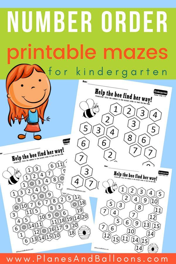 Free Download Kindergarten Worksheets