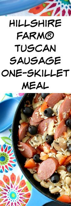 Try my Hillshire Farm® Tuscan Sausage One-Skillet Meal made with fresh ingredients and save money at Target with a Cartwheel coupon!  http://freebies4mom.com/tuscan #CreateYourDeliciousSkill