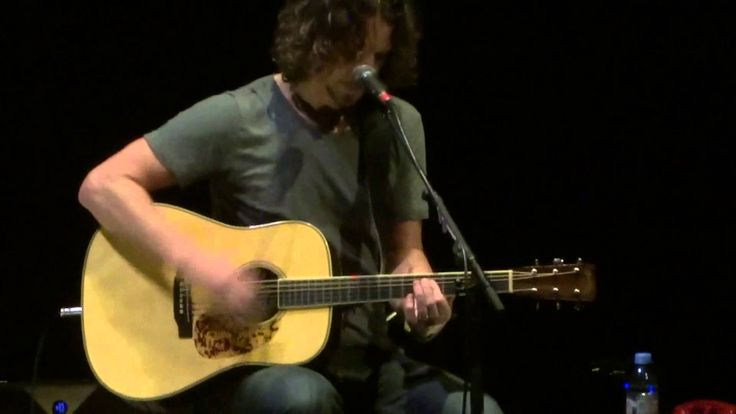 """""""Seasons & The Day I Tried to Live"""" Chris Cornell@Santander Arts Center ..."""