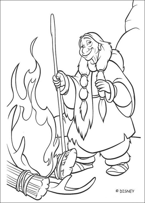 Brother Bear Coloring Pages Disney PagesColoring Book