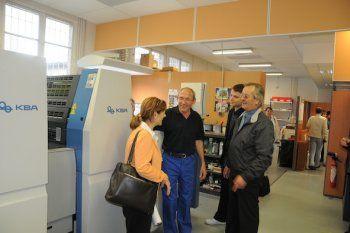 KBA: La mairie de Fontenay-sous-Bois inaugure sa presse KBA ...