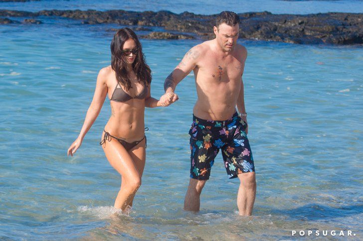 Pin for Later: Megan Fox and Brian Austin Green's Sweetest, Sexiest Moments  Megan and Brian flaunted their beach bodies during a day in Hawaii in January 2015.