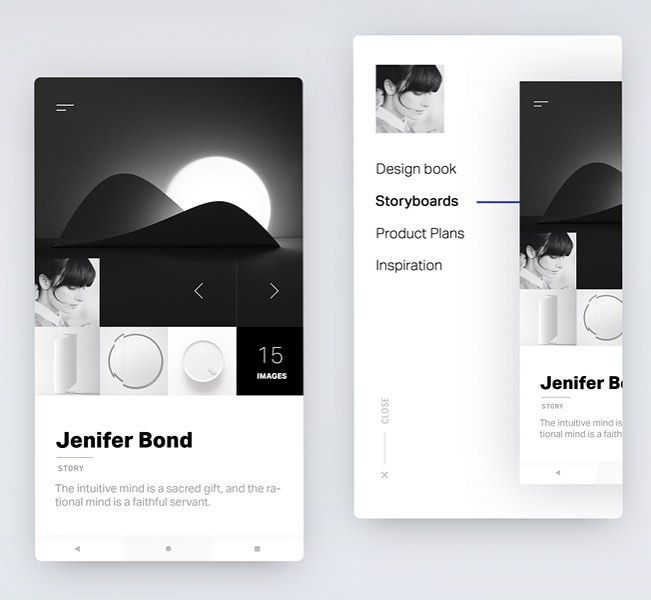 Beautiful UI Profile for product design exploration by Gleb Kuznetsov @glebich  #product #design #app #mobile #development #blackandwhite #contrast #profile #page #design #ui #ux #userinterface #www #experience #bold #technology #picoftheday #typo #typography #inspiration #creative #digital #entrepreneur #storyboard #light #instaweb
