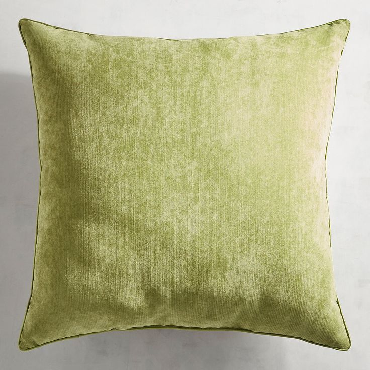 Oversized Lindon Green Pillow