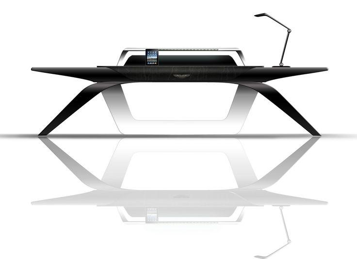 The Art of Designing: Aston Martin for Interiors