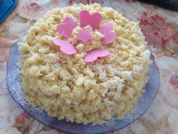 Torta mimosa Cuisine Companion - http://www.mycuco.it/cuisine-companion-moulinex/torta-mimosa-cuisine-companion/?utm_source=PN&utm_medium=Pinterest&utm_campaign=SNAP%2Bfrom%2BMy+CuCo
