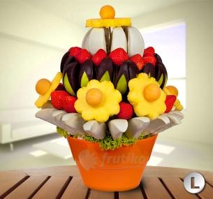 Delicious flower sweet surprise will make happy all lucky reciever http://www.frutiko.cz/en/sweet-surprise
