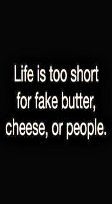 Too short...for fake cheese.