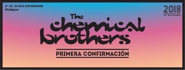 The Chemical Brothers, primera confirmación del Low Festival 2018  ||  Los abonos se pueden comprar ya en www.lowfestival.es y www.ticketea.com al precio promocional de 57 euros hasta este domingo. http://www.europapress.es/cultura/musica-00129/noticia-the-chemical-brothers-primera-confirmacion-low-festival-2018-20171215091409.html?utm_campaign=crowdfire&utm_content=crowdfire&utm_medium=social&utm_source=pinterest
