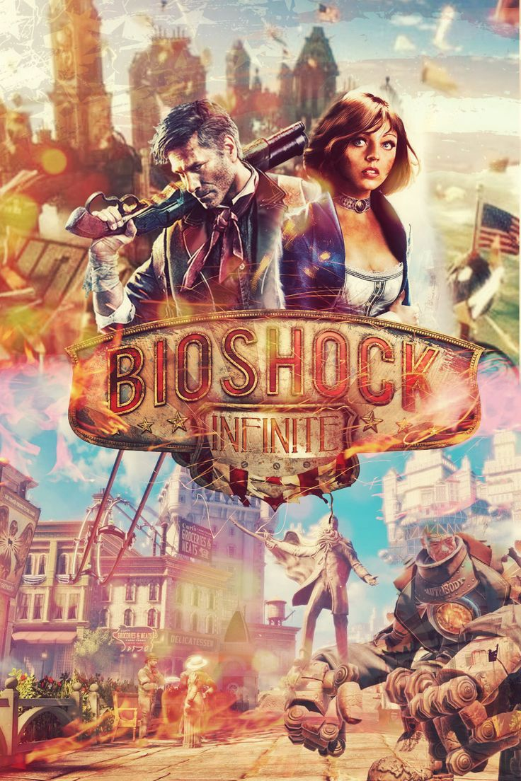 #Bioshock The year is 1912. Deep in debt, Booker DeWitt has only one opportunity for a clean slate, rescue Elizabeth, a mysterious girl imprisoned since childhood in the flying city of Columbia. Forced to trust one another, they must harness and expanding arsenal of weapons and abilities as they fight to survive the threats of the city and uncover its dark secrets.