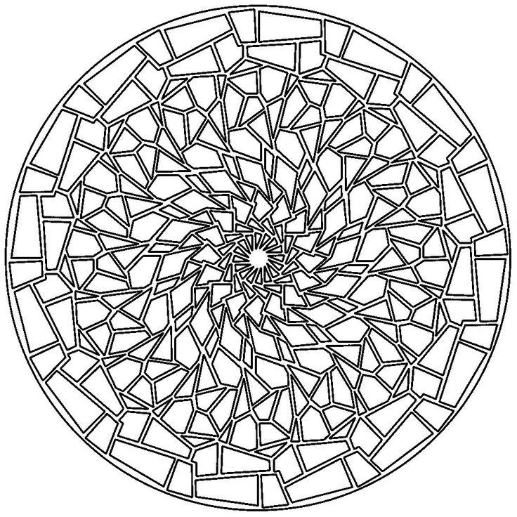 38 best Mandalas images on Pinterest | Mandala coloring ...