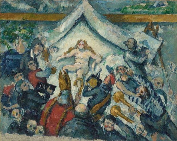 Paul Cézanne, The Eternal Feminine (L'Éternel Féminin), about 1877, The J. Paul Getty Museum, Los Angeles