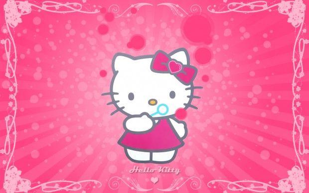 Hello Kitty wallpaper HD Free.
