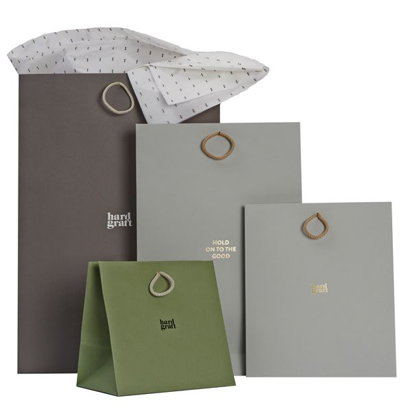 Range of Luxury carrier bags